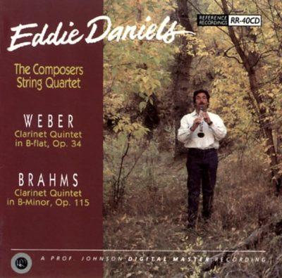 Weber & Brahms Quintets | Eddie Daniels