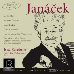 Janacek: Orchestral Works   Czech State Philharmonic