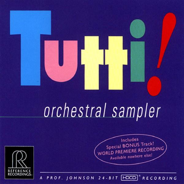 Tutti! Orchestral Sampler | Various