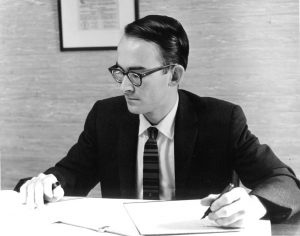 Keith O. Johnson in the 1950s.
