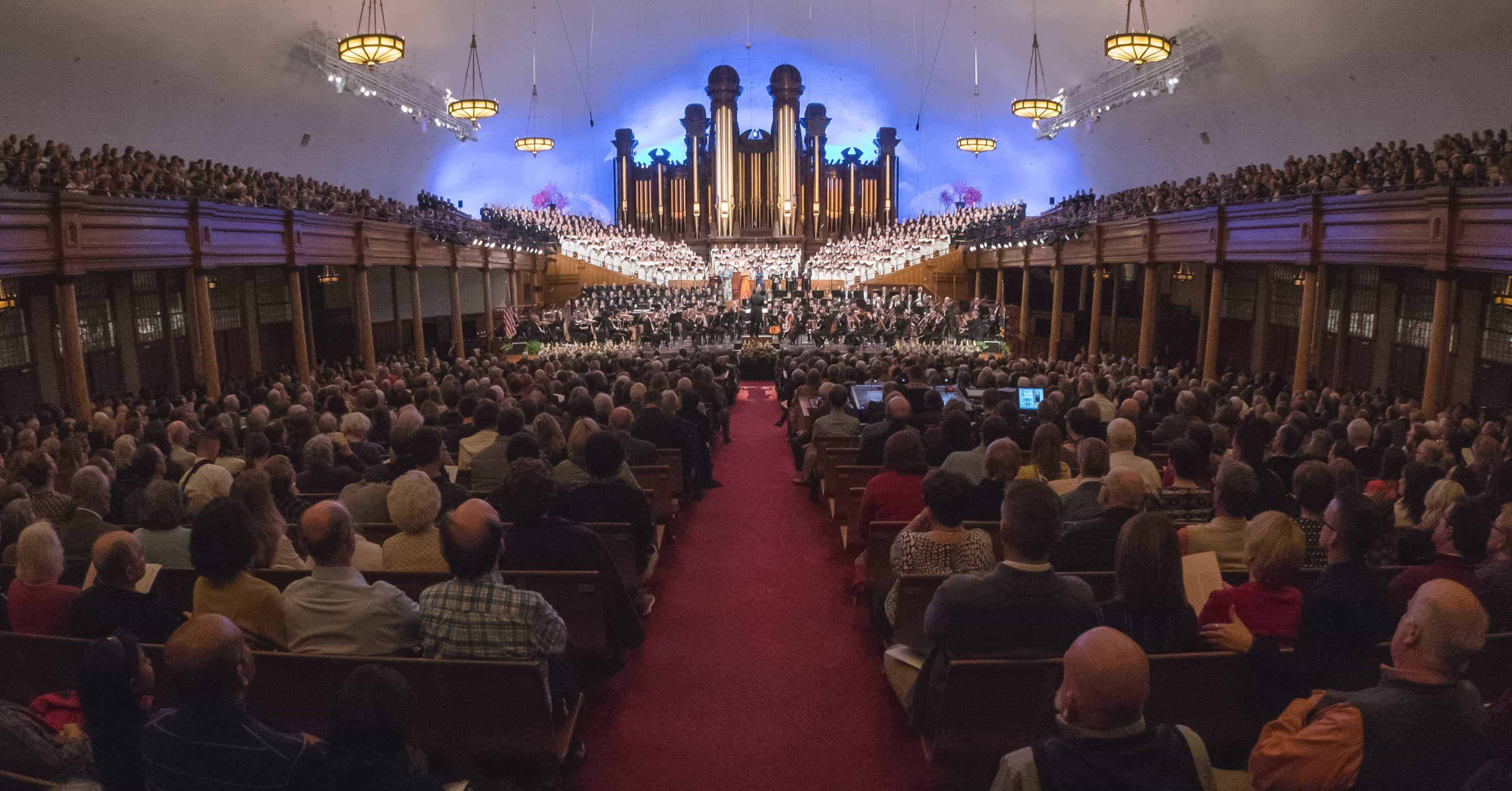 The Utah Symphony and the Mormon Tabernacle Choir