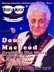 Blues Music Magazine - Doug MacLeod Cover