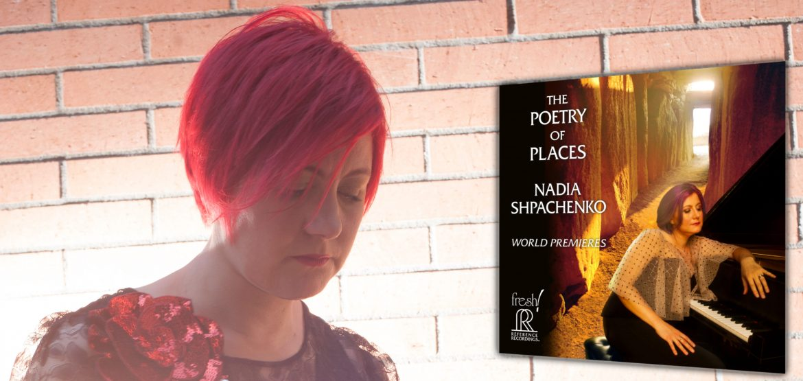 Nadia Shpachenko's The Poetry of Places