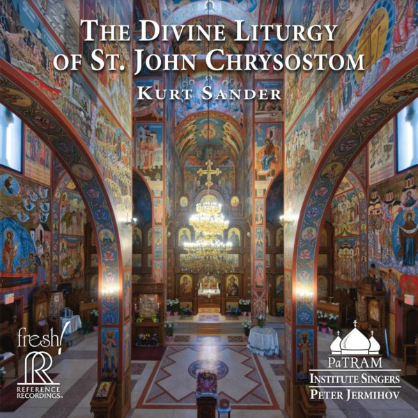 Kurt Sander: The Divine Liturgy of St. John Chrysostom Album Artwork