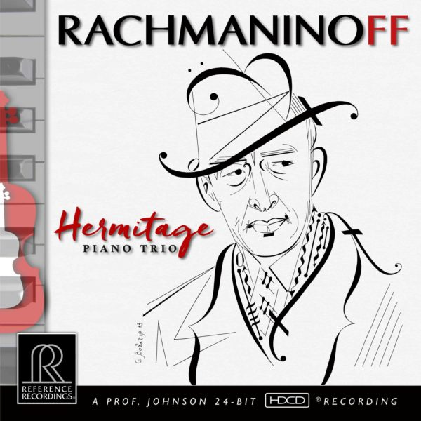 Hermitage Piano Trio: Rachmaninoff SACD Album Artwork
