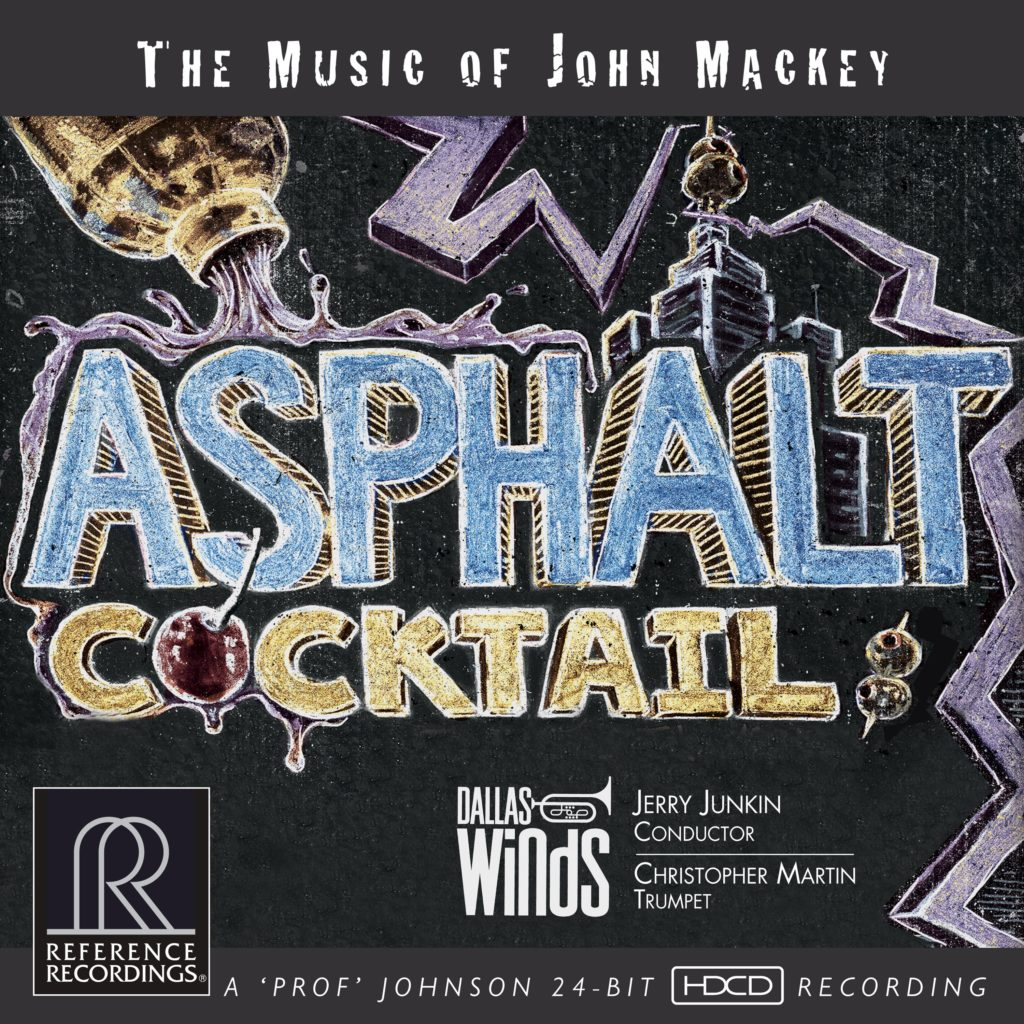 Asphalt Cocktail: The Music of John Mackey Cover Artwork