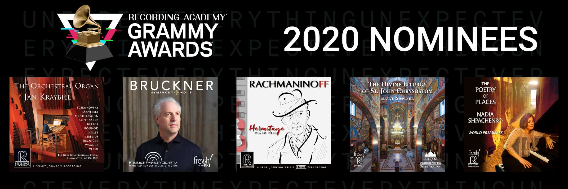 11 GRAMMY® Award Nominations!