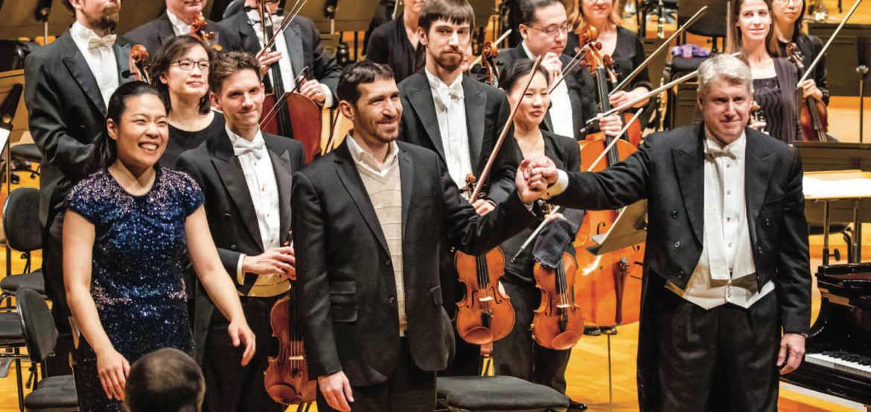 Kansas City Symphony Jonathan Leshnoff Joyce Yang Michael Stern