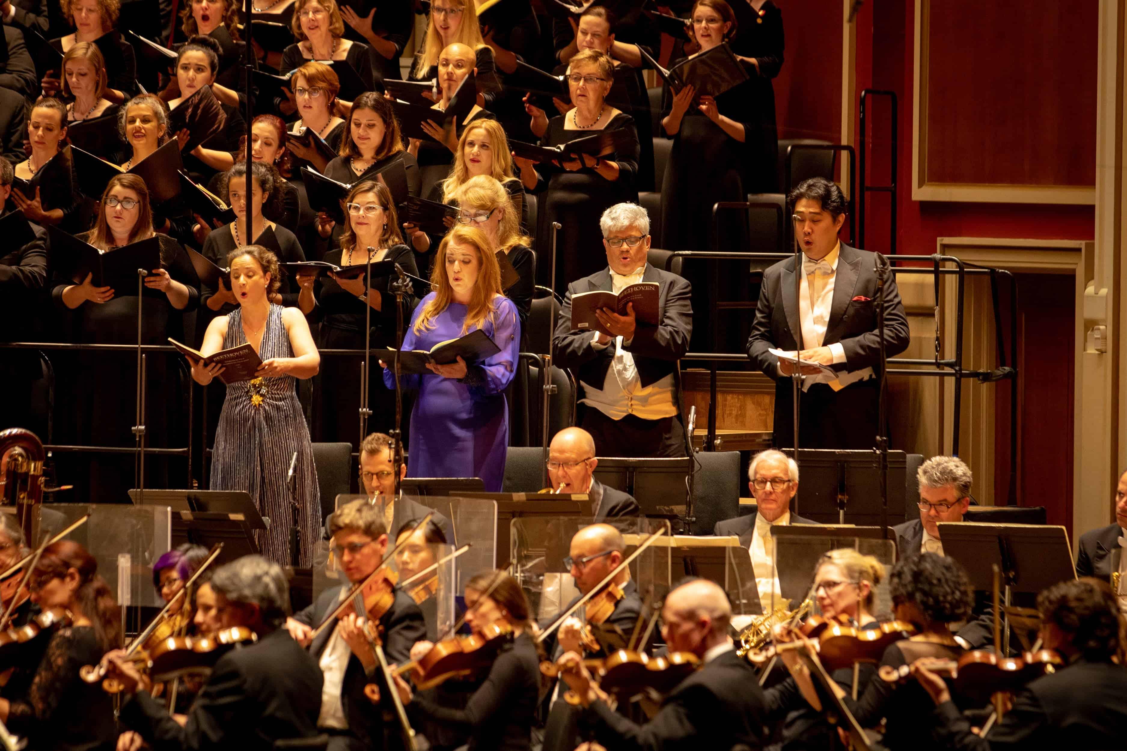 PIttsburgh Symphony Orchestra Beethoven 9 CD concert soloists: Christina Landshamer, JenniferJohnson Cano, Werner Güra, and Shenyang